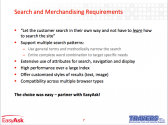 Small Business Site Search and Merchandising