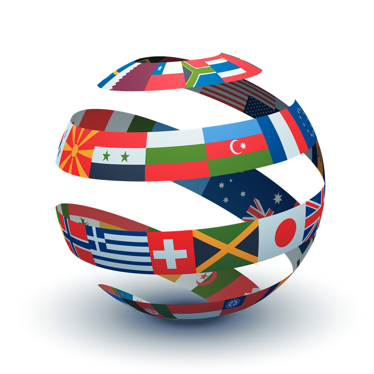 sphere-of-flags
