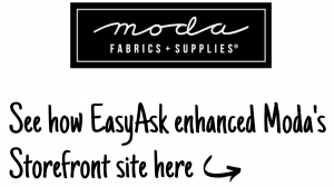 Moda EasyAsk Direct demos